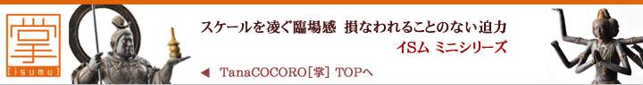 リアル仏像イSム ミニシリーズ 掌 TanaCOCORO