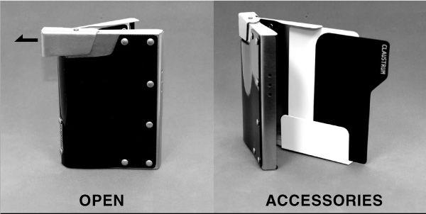 クラウストルム CCコンテナ 開け方と付属品