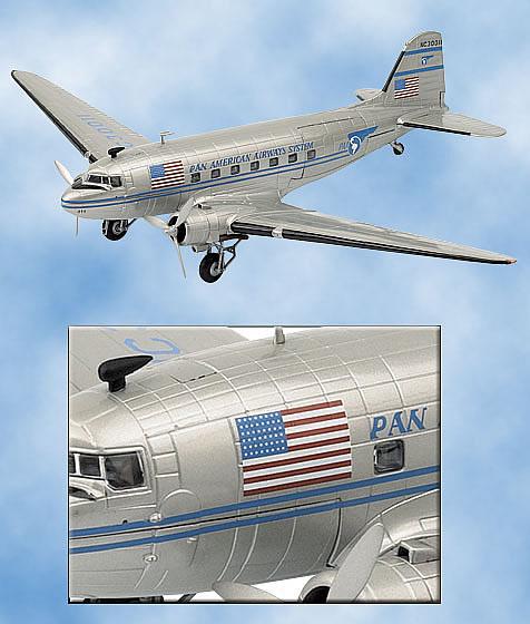 フランクリンミント DC3旅客機 パンアメリカン航空
