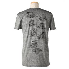 ジョー・バー・チームTシャツ10JBT-001/チャコール/バック
