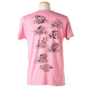 ジョー・バー・チームTシャツ10JBT-001/ピンク/バック