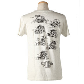 ジョー・バー・チームTシャツ10JBT-001/ホワイト/バック