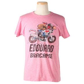 ジョー・バー・チームTシャツ エドゥアール・ブラカム 10JBT-003/ピンク