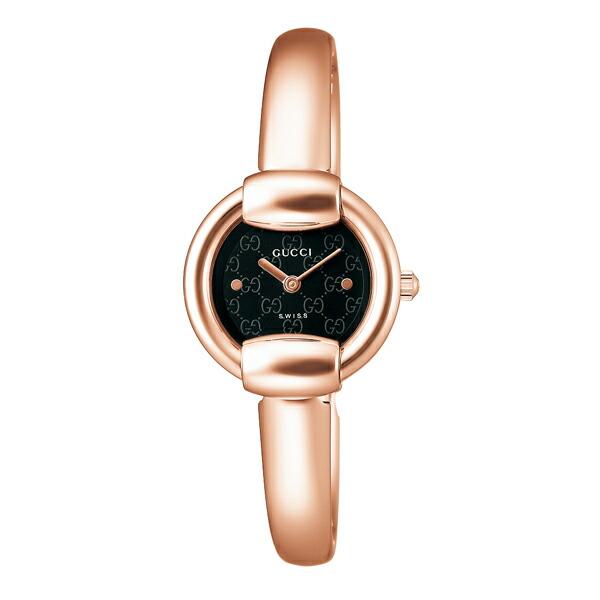 グッチ 腕時計 GUCCI 時計 レディース バングルタイプ / ブラック