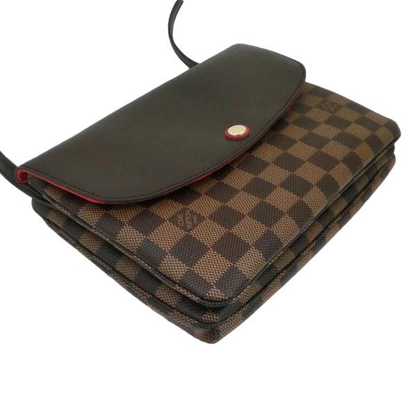 ルイヴィトン バッグ LOUIS VUITTON ショルダーバッグ クラッチ ツインセット ダミエ N48259