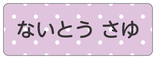 1601-3.紫ドット柄