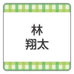 緑チェック