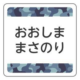ブルー迷彩