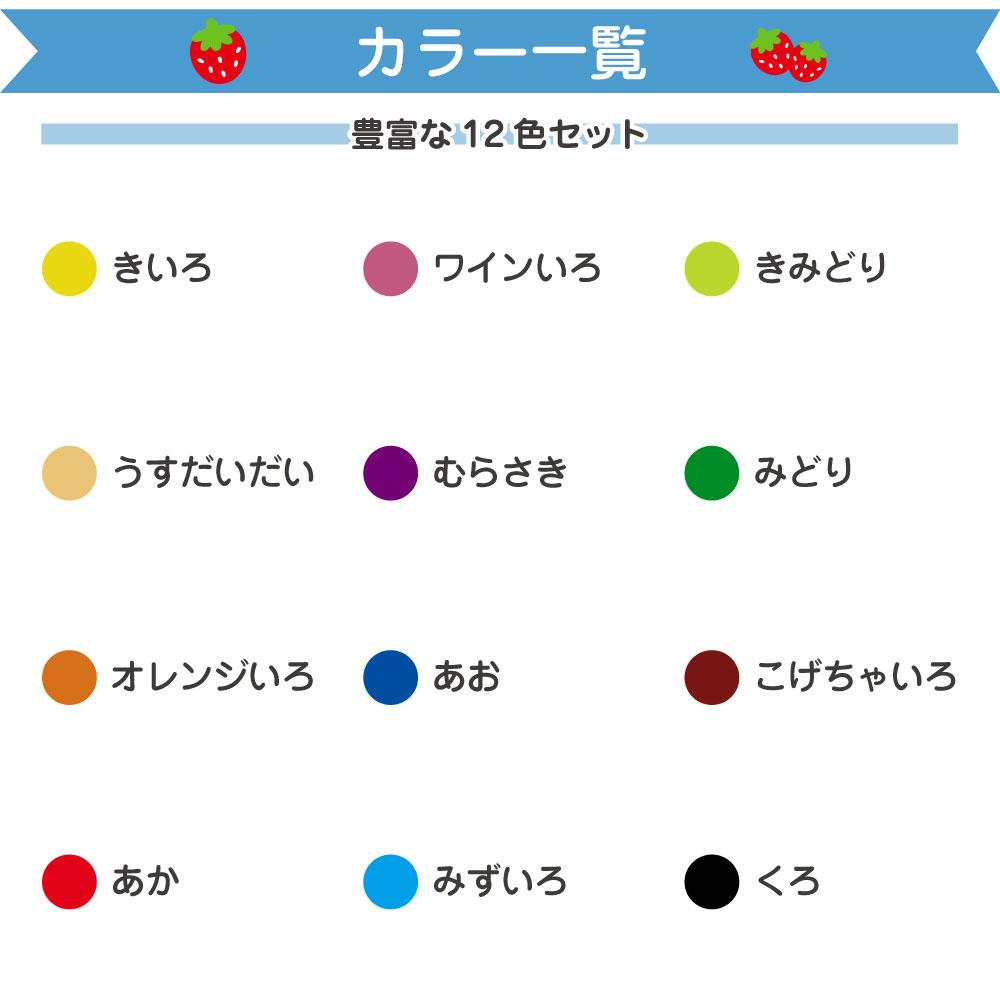 12色色鉛筆の仕様1