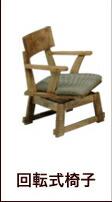 座面回転式椅子