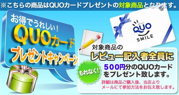 QUOカードプレゼントキャンペーン