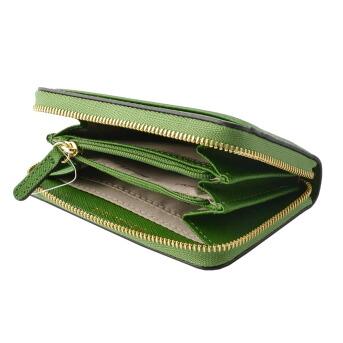 マイケルコース MICHAEL KORS 32T8GF6Z1L 304 True Green MKロゴ ジップアップ コイン カード ケース