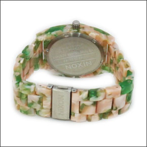 NIXON ニクソン メンズ腕時計 レディース腕時計 THE TIME TELLER タイムテラー アセテート ゴールド×モラセス A3271424