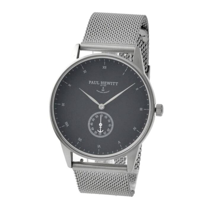 ポールヒューイット PAUL HEWITT PH-M1-S-B-4S シグネチャーライン メンズ 腕時計 ユニセックス 腕時計 Signature Line 38mm