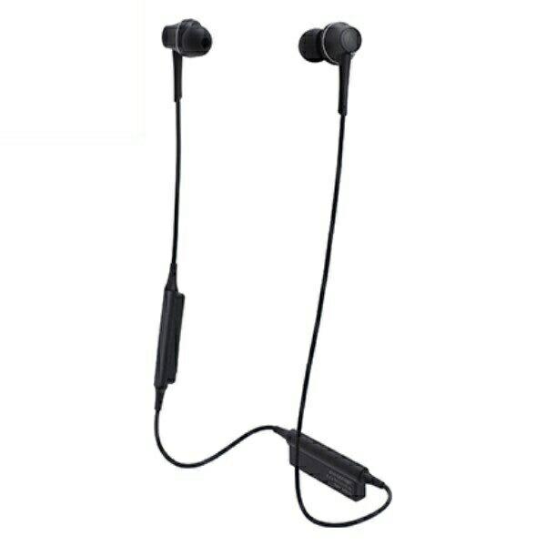 【送料無料】オーディオテクニカ Bluetooth ワイヤレスヘッドホン aptx/AAC対応 グラファイトブラック ATH-CKR75BTBK