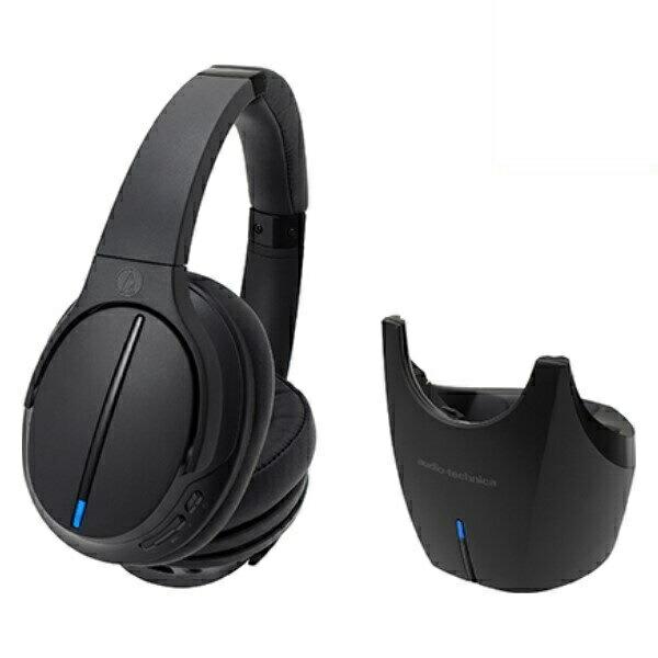 【送料無料】オーディオテクニカ デジタルワイヤレスヘッドホンシステム ブラック ATH-DWL550