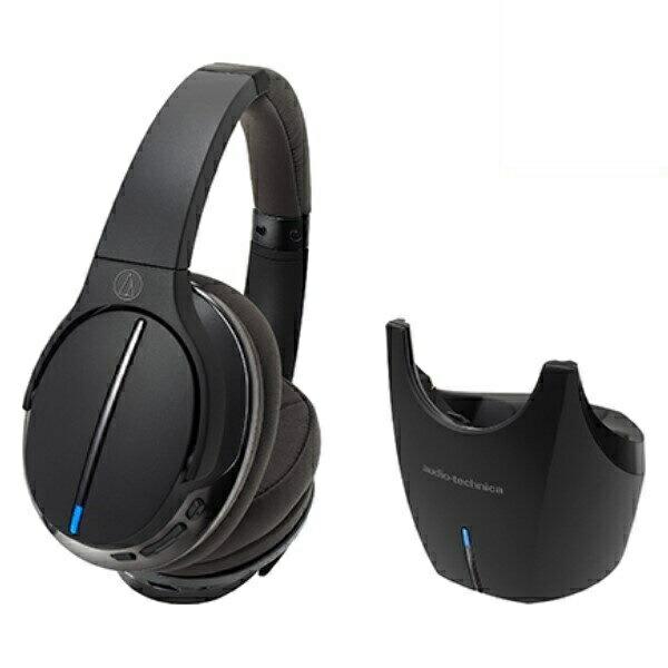 【送料無料】オーディオテクニカ Bluetooth デジタルワイヤレスヘッドホンシステム ハイレゾ対応 ブラック ATH-DWL770