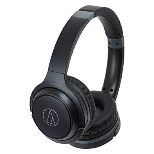 オーディオテクニカ Bluetooth ワイヤレスヘッドホン ブラック ATH-S200BTBK