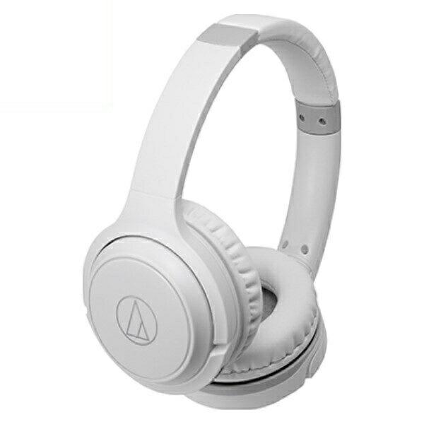 オーディオテクニカ Bluetooth ワイヤレスヘッドホン ホワイト ATH-S200BTWH