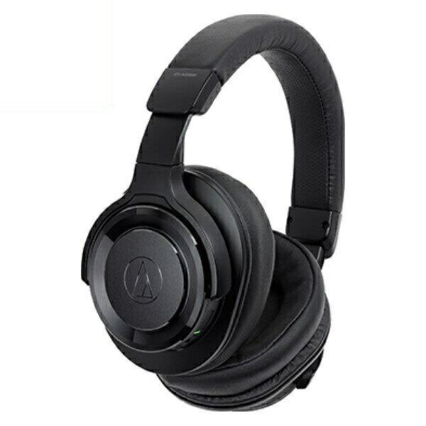 【送料無料】オーディオテクニカ Bluetooth ワイヤレスヘッドホン SOLID BASS ハイレゾ対応 ブラック ATH-WS990BTBK