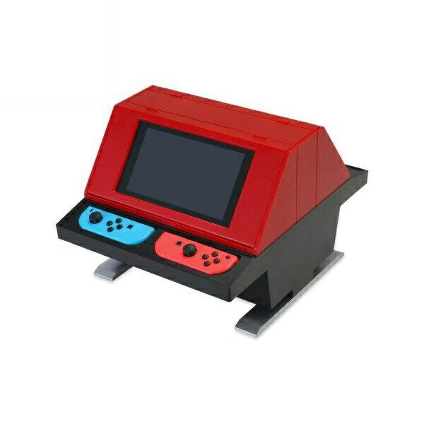 【送料無料】コロンバスサークル ニンテンドー スイッチ用 対面型アーケードスタンド レッド CC-NSTAS-RD Nintendo Switch用 スタンド 【限定生産】