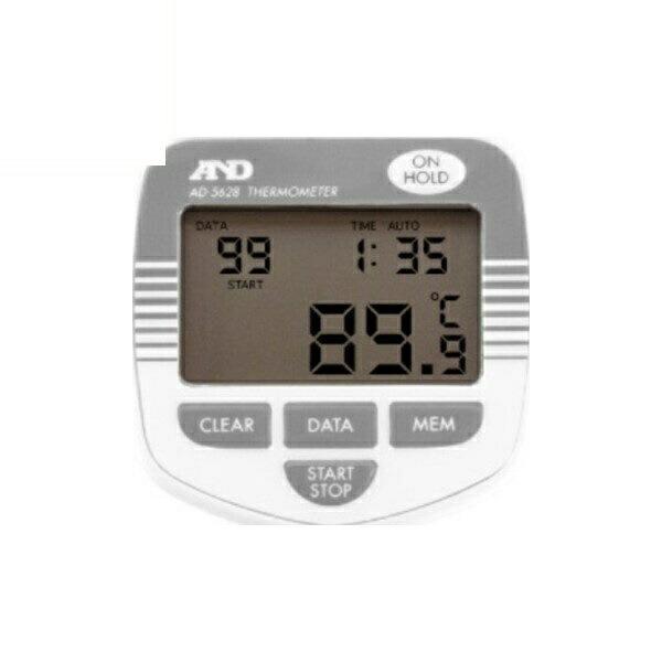 【送料無料】エー・アンド・デイ 防水形メモリー付き中心温度計 AD-5628 測定 計測器具 A&D