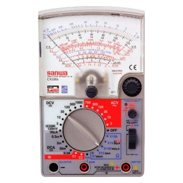 【送料無料】三和電気計器/SANWA アナログマルチテスタ 静電容量測定機能 CX-506A