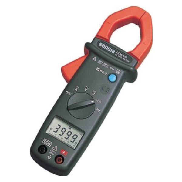 【送料無料】三和電気計器/SANWA ACクランプメータ DMM機能付 DCM-400