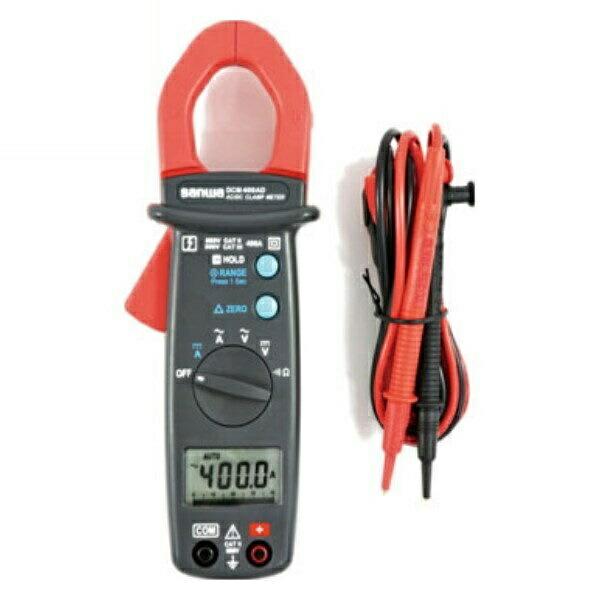 【送料無料】三和電気計器/SANWA DC/AC両用クランプメータ DMM機能付 DCM-400AD