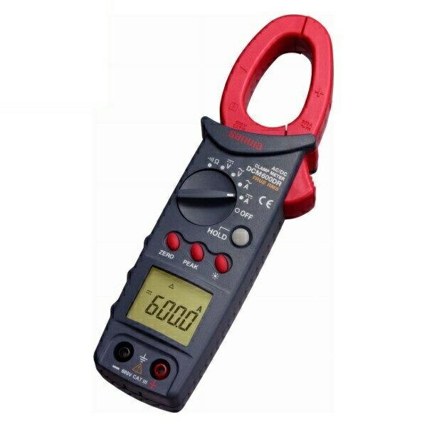 【送料無料】三和電気計器/SANWA DC/AC両用クランプメータ 真の実効値測定 DCM-600DR
