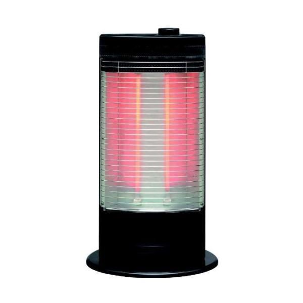【送料無料】トヨトミ 赤外線ヒーター ブラック 強1000W/弱500W ツイン赤外線+ワイド反射 EH-Q100I-B