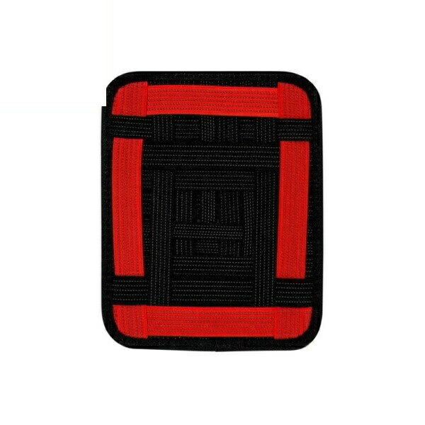 【送料無料】ミヨシ 収納バンド付マウスパッド レッド GRID-IT GZ-03/RD 小物 ガジェット 収納 パッド