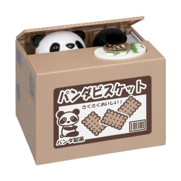 【送料無料】Newいたずらバンク パンダ キャラクター貯金箱 シャイン S-376435 かわいい おしゃれ インスタ youtube バンク