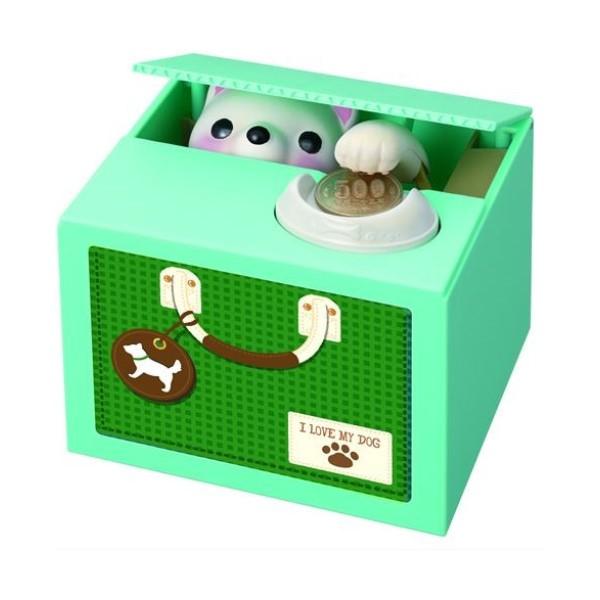 【送料無料】子犬のおへんじバンク たちみみ しろ キャラクター貯金箱 シャイン S-376527 かわいい おしゃれ インスタ youtube バンク