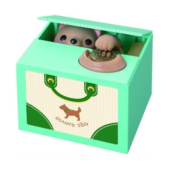 【送料無料】子犬のおへんじバンク たちみみ ちゃ キャラクター貯金箱 シャイン S-376541 かわいい おしゃれ インスタ youtube バンク