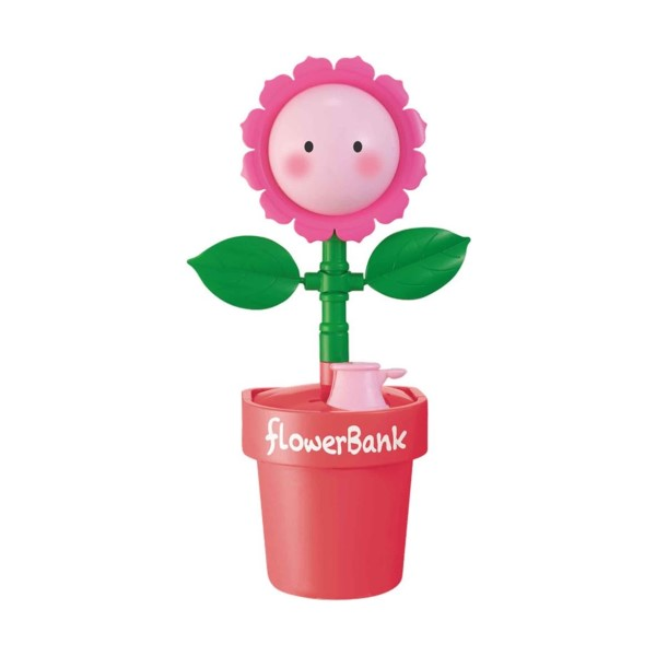 【送料無料】フラワーバンク ひまわり ピンク キャラクター貯金箱 シャイン S-376626 かわいい おしゃれ インスタ youtube バンク