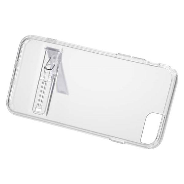 OHM iPhone7/7s用 クリアケース スタンド付 SMP-CI7CS