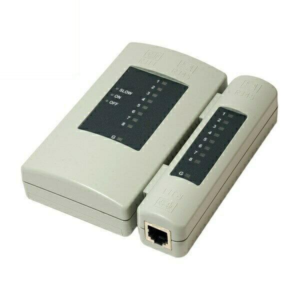 【送料無料】ミヨシ LANモジュラーテスター ケーブルテスター TS-86N LANケーブル 電話コード チェッカー テスター