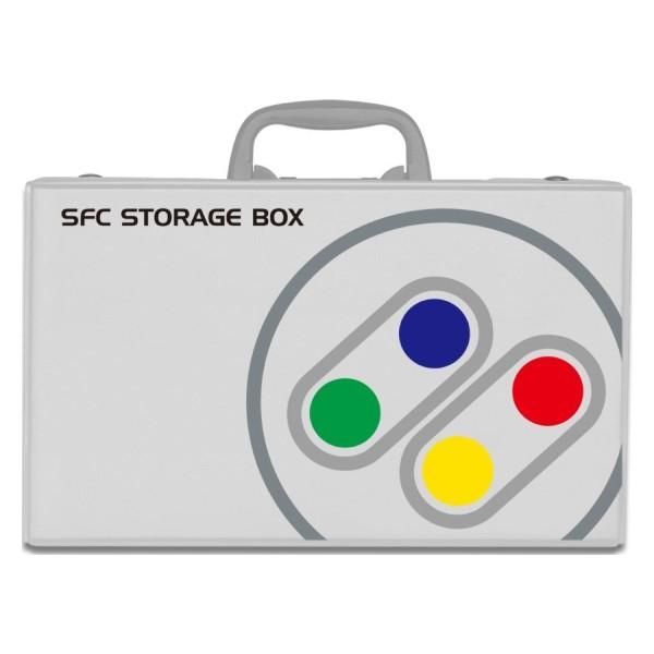 コロンバスサークル クラシック収納箱 クラシックミニスーパーファミコン専用ボックス CC-CMSFB-GR