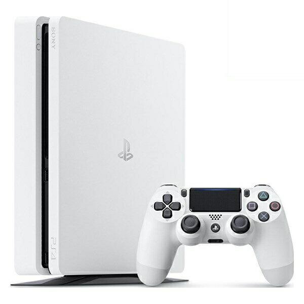 【送料無料】SIE プレイステーション4/PlayStation 4 500GB グレイシャー・ホワイト PS4/本体/新品 CUH-2100AB02 【お一人様一台限り】
