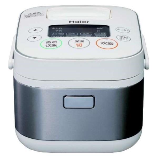 【送料無料】ハイアール マイコン炊飯器 3合炊き JJ-M31D-W