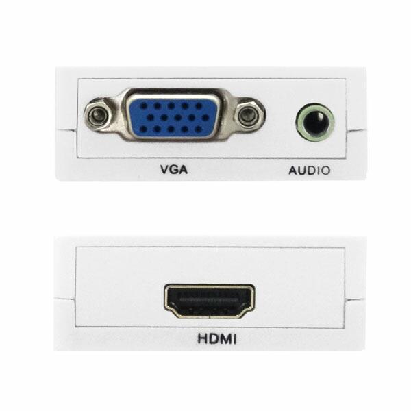 【メール便送料無料】VGA to HDMI変換アダプター VGAをHDMI変換 アップスキャンコンバーター 3Aカンパニー 3A-VGHD100 【返品保証】