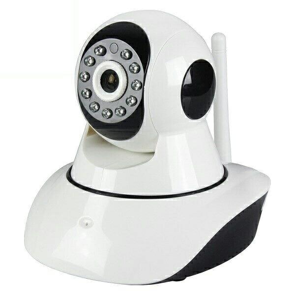 【送料無料】ダイトク 屋内用セキュリティカメラ Wi-Fiホームカメラ スマ見えCAM Robo Glanshield GS-SMC021 防犯カメラ ワイヤレス ベビーカメラ 防犯 防災用品