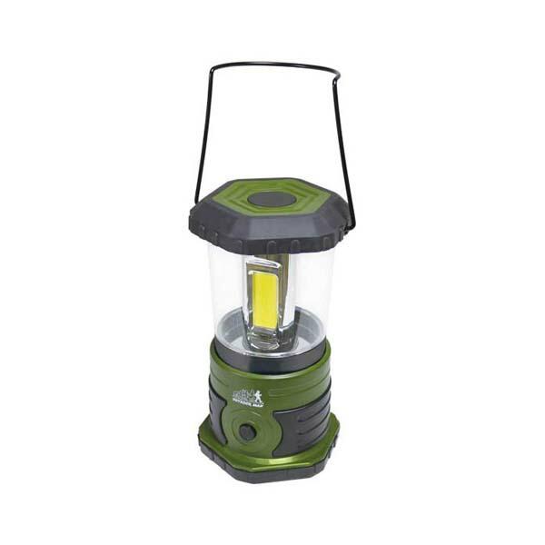【送料無料】LEDランタン 高輝度1000ルーメン グリーン 電池式 4段階切替 OUTDOOR MAN KK-00431 キャンプ アウトドア用品 非常時 防災グッズ レジャーグッズ LED 懐中電灯 インスタ