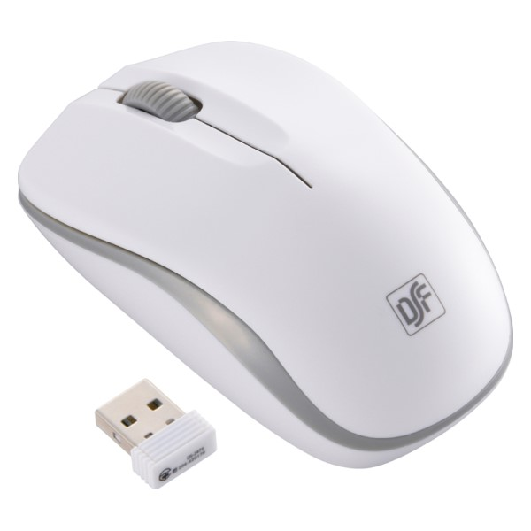 OHM ワイヤレス IR静音マウス ホワイト グレー PC-SMWIMS32W