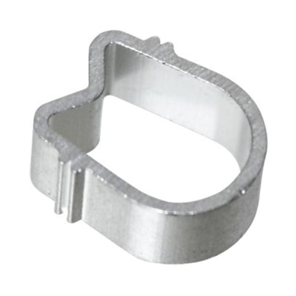 【メール便送料無料】F型接栓用 4C アルミリング 100個入り F型コネクタ用リング ソリッド RNG-AL4-100P アンテナプラグ F型プラグ