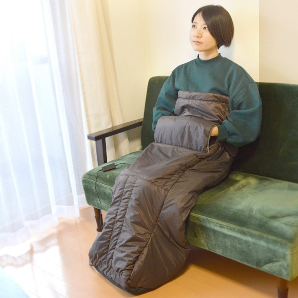 【2月限定特価】【送料無料】サンコー 着るお一人様用こたつ 履くコタツ TKWKOHKO
