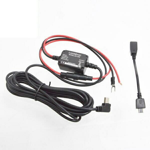 サンコー ドライブレコーダー「X9DVRDL」「X10DVRDL」専用電源直接コネクター X9DVRDOP1