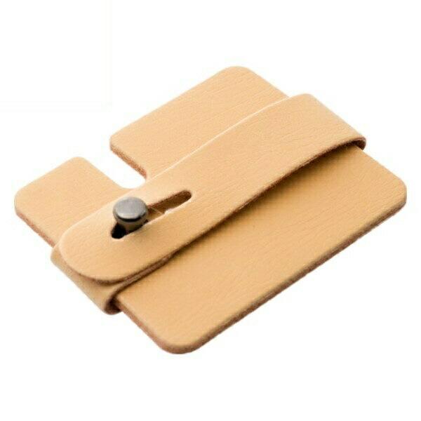 ミヨシ カード型 コードホルダー ベージュ ヘッドホン・イヤホンコードリール AAC-IH02/BE