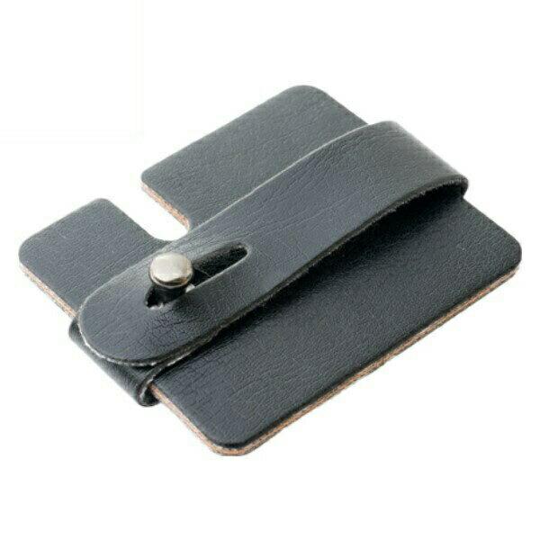 ミヨシ カード型 コードホルダー ブラック ヘッドホン・イヤホンコードリール AAC-IH02/BK